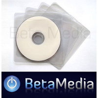 100 x Clear Mini Plastic CD / DVD Sleeves