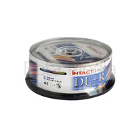 Intact Glossy DVD+R Dual Layer 8x blank discs