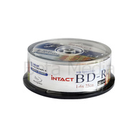 Intact Blu ray BD-R 6x 25GB 25 disc spindle