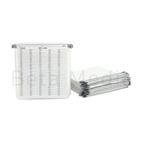 Plastic DVD / CD Sleeves with Bridge and Index