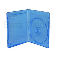 Single Blu Ray 14mm Cases - Australian Standard Size Case