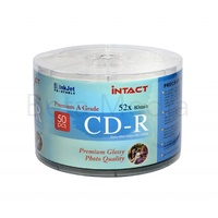 Intact Glossy CD-R 52X blank discs