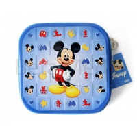 Disney Mickey Mouse CD DVD Tin Storage Wallet Case Holds 24 discs