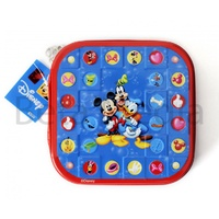 Disney Mickey Mouse & friends 1 - CD / DVD Tin Storage Wallet Case Holds 24 discs
