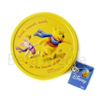 Disney Winnie the Pooh 4 - CD / DVD Tin Storage Wallet Case Holds 24 discs