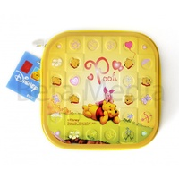 Disney Winnie the Pooh 3 - CD / DVD Tin Storage Wallet Case Holds 24 discs