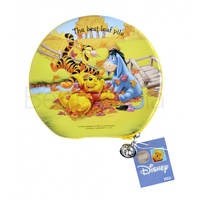 Disney Winnie the Pooh 6 - CD / DVD Tin Storage Wallet Case Holds 24 discs