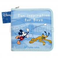Disney Mickey Mouse & friends 4 - CD / DVD Storage Wallet Case Holds 24 discs