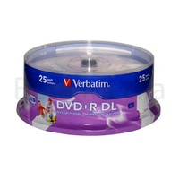 Verbatim DVD+R Dual Layer 8x blank disc