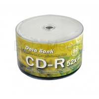 Data Bank CD-R 52X blank discs