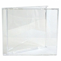 100 Jewel Cases Clear Tray - CASE ONLY (NO TRAY)