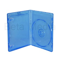 Single Blu Ray 12mm Cases - U.S Standard Size