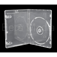 Single Clear Blu Ray 12mm Cases - U.S Standard Size