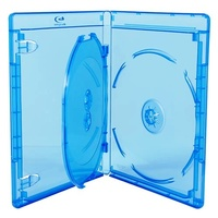 Triple Blu Ray 14mm Cases - Australian Standard Size Case
