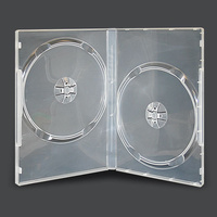 Double clear 7mm DVD cover cases