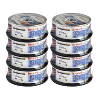 200 x Intact 8.5GB DVD+R DL Dual layer 8X - Full Hub Glossy Printable DVD