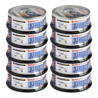 250 x Intact 8.5GB DVD+R DL Dual layer 8X - Full Hub Glossy Printable DVD