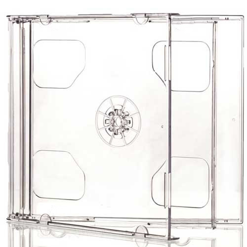 Double Standard Jewel CD Cases with Clear Tray [I need: 400 (4 boxes) ]
