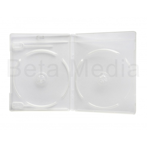 Double Clear Blu Ray 12mm Cases - U.S Standard Size [I need: 100 ]