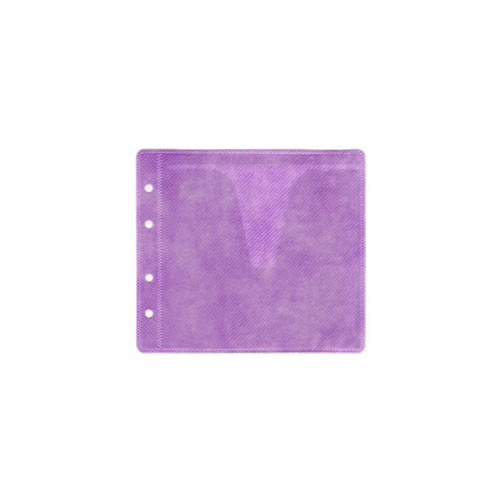 Purple CD / DVD Double Sided Plastic Sleeves [I need: 4000 (1 box) ]