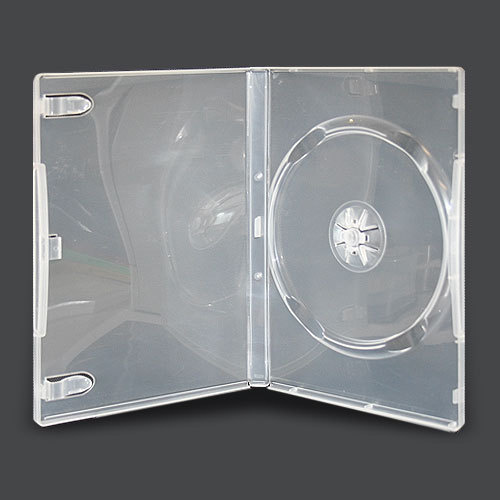 Single clear 14mm DVD cover cases [I need: 1000 ]