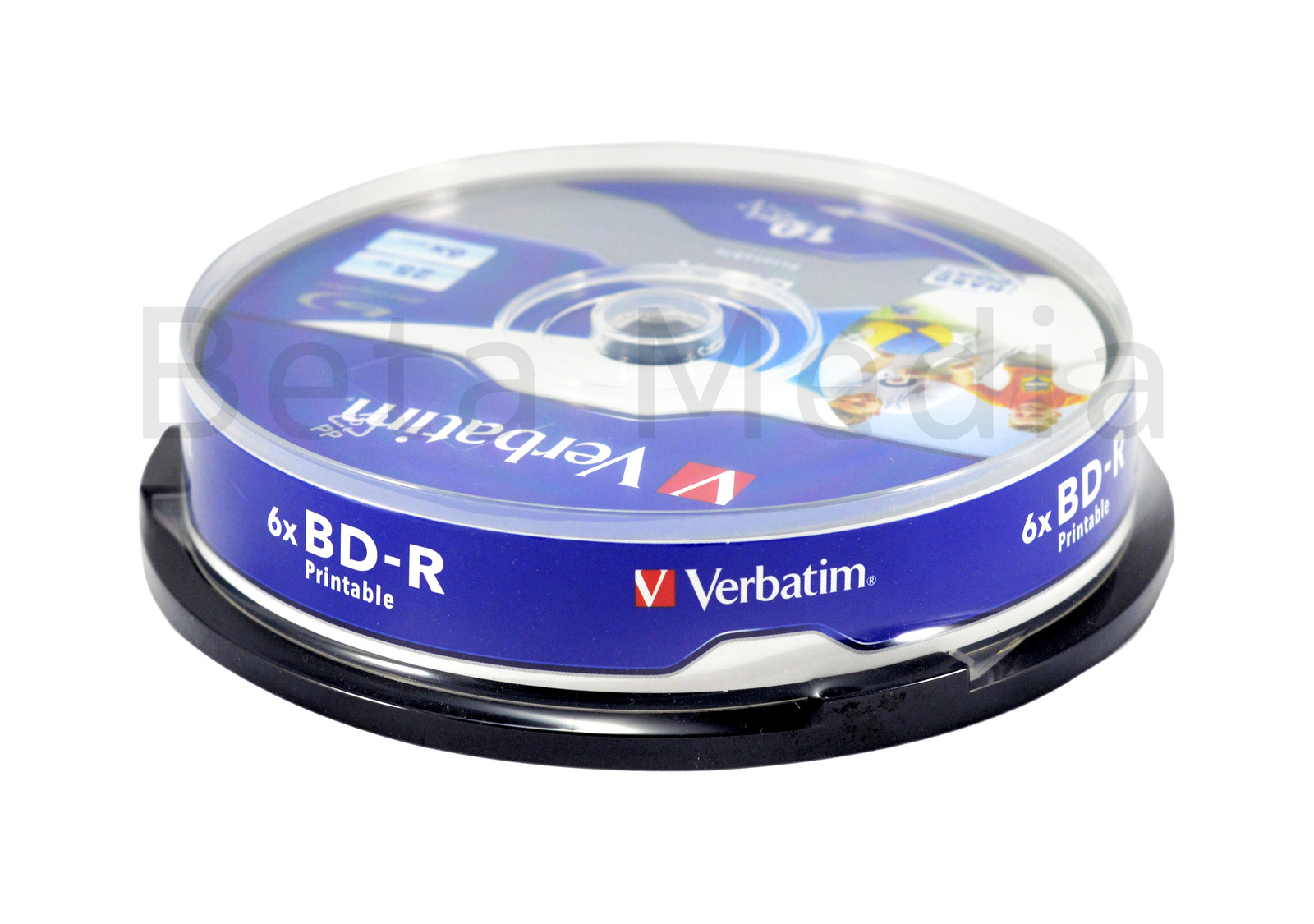 b0e792b31 Verbatim Blu ray BD-R 6x 25GB 10 disc spindle