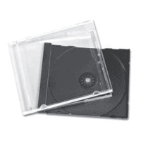 100 UNASSEMBLED Jewel Cases Black Tray
