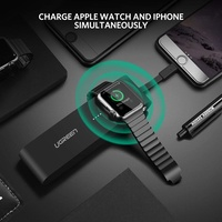 Ugreen 4400mAh Wireless Power Bank for Apple Watch and IPhone