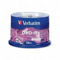 Verbatim blank DVD+R 16x FULL HUB Wide printable