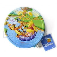 Disney Winnie the Pooh 2 - CD / DVD Tin Storage Wallet Case Holds 24 discs