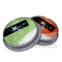 10 Ritek DVD+RW Rewritable 4x blank discs