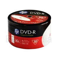 HP DVD-R 16x Full Hub Printable blank discs
