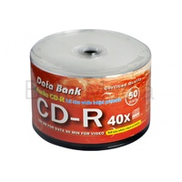 Data Bank Audio CD R 40x blank discs