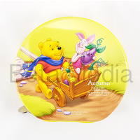 Disney Winnie the Pooh 10 - CD / DVD Tin Storage Wallet Case Holds 24 discs