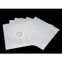 PAPER CD/DVD Sleeves with plastic window 120GSM