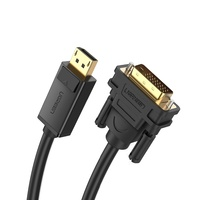 DisplayPort to DVI-D 24+1 Video Cable