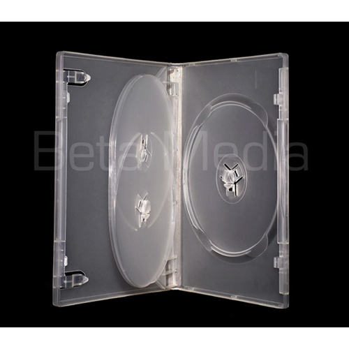 Triple clear 14mm DVD cover case [I need: 100 ]