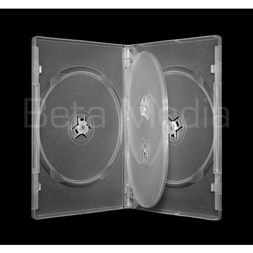 Quad clear 14mm DVD cover case [I need: 100 ]